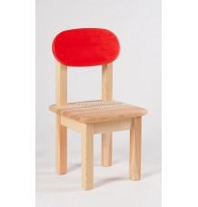 Židle Oval dětská červené opěradlo