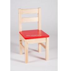 židle Klasik sedák červený