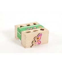 Kipito dřevěné kostky s obrázky