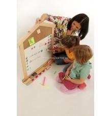 Rodinný organizér - tabule (tvar domek)