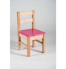 židle Klasik sedák růžový