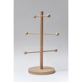 STOJAN NA PRECLÍKY dřevěný 24 x 40 cm
