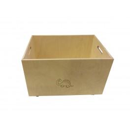 BOX NA HRAČKY - DŘEVĚNÝ